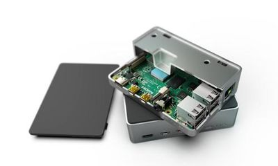 Raspberry Pi 4 Alüminyum Muhafaza Kutusu