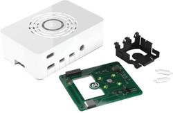 Raspberry Pi 4 Beyaz Kutu - Güç Düğmeli - Thumbnail