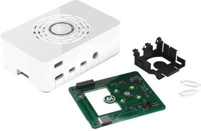 Raspberry Pi 4 Beyaz Kutu - Güç Düğmeli