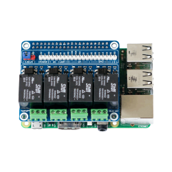 Turta Raspberry Pi 4 Channel Relay Board - Thumbnail