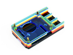 Raspberry Pi 4 Fanlı Koruma Kasası Renkli - Thumbnail