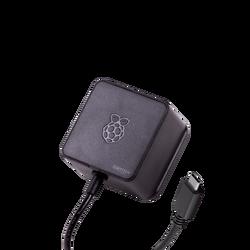 Raspberry Pi 4 Güç Adaptörü 5.1V 3A Siyah (Lisanslı) - Thumbnail