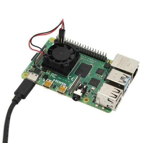 Raspberry Pi 4 Güç Anahtarlı Kablo - Type-C - Thumbnail