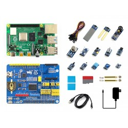 Waveshare - Raspberry Pi 4 için 13 Parça Sensör Seti