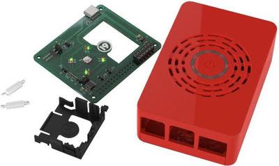 Raspberry Pi 4 Kırmızı Kutu - Güç Düğmeli