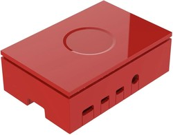 Multicomp Pro - Raspberry Pi 4 Kutusu - Kırmızı