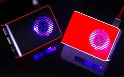 Raspberry Pi 4 Led'li Fanlı Kutu Kırmızı-Siyah - Thumbnail