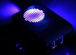Raspberry Pi 4 Led'li Fanlı Kutu Siyah - Thumbnail
