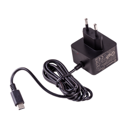 Raspberry Pi 4 Official Black Power Supply - 5V/3A - Thumbnail
