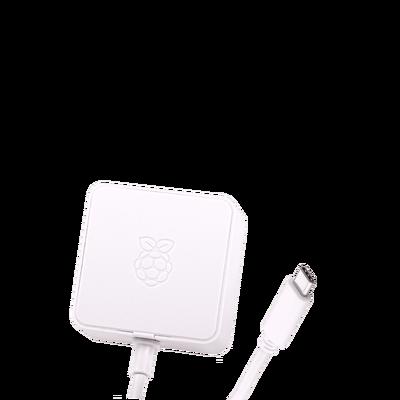 Raspberry Pi 4 Official White Power Supply - 5V/3A