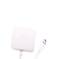Raspberry Pi 4 Official White Power Supply - 5V/3A - Thumbnail