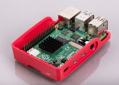Raspberry Pi 4 Orijinal Kutu Fanı