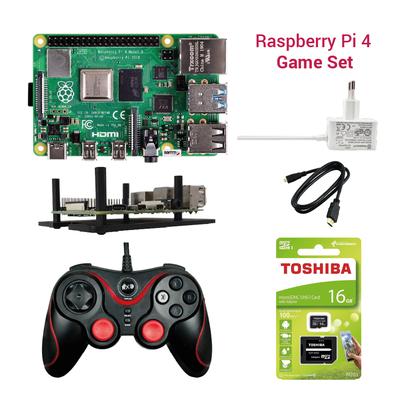 Raspberry Pi 4 Oyun Seti
