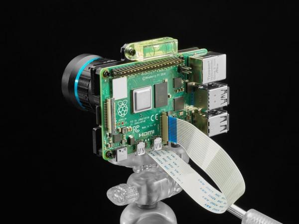 Adafruit - Raspberry Pi 4 Pro HQ Kamera için Montaj Plakası