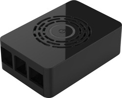 Multicomp Pro - Raspberry Pi 4 Siyah Kutu - Güç Düğmeli