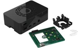 Raspberry Pi 4 Siyah Kutu - Güç Düğmeli - Thumbnail