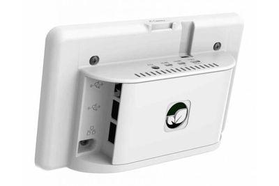 Raspberry Pi 4 Uyumlu Dokunmatik Ekran Kasası - Beyaz