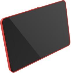 Raspberry Pi 4 Uyumlu Dokunmatik Ekran Kasası - Kırmızı - Thumbnail