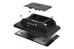 Multicomp Pro - Raspberry Pi 4 Uyumlu Dokunmatik Ekran Kasası - Siyah