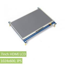 Waveshare - Raspberry Pi 7'' 1024x600 HDMI Dokunmatik IPS LCD Ekran