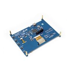 Raspberry Pi 7'' 1024x600 HDMI Dokunmatik IPS LCD Ekran - Thumbnail