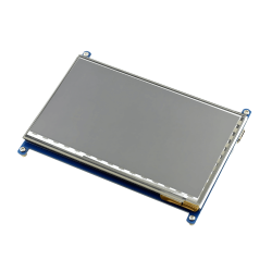 Waveshare - Raspberry Pi 7'' 1024 x 600 HDMI Dokunmatik IPS LCD (C) Ekran