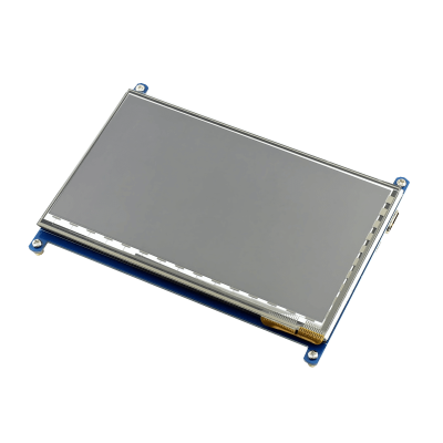 Raspberry Pi 7'' 1024 x 600 HDMI Dokunmatik IPS LCD (C) Ekran