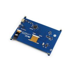 Raspberry Pi 7'' 1024 x 600 HDMI Dokunmatik IPS LCD (C) Ekran - Thumbnail