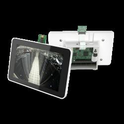 Raspberry Pi 7 Inch Dokunmatik Ekran Kutusu Beyaz - Thumbnail