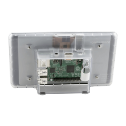 Raspberry Pi 7 Inch Dokunmatik Ekran Kutusu Şeffaf - Thumbnail