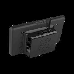 Waveshare - علبة حماية / كفرشاشة لمس 7 إنش راسبيري باي - لون أسود