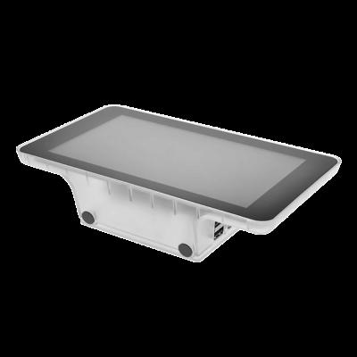 علبة حماية / كفرشاشة لمس 7 إنش راسبيري باي - لون شفاف