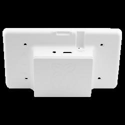 Waveshare - علبة حماية / كفرشاشة لمس 7 إنش راسبيري باي - لون أبيض