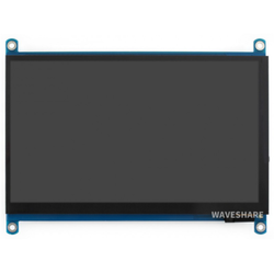Waveshare - Raspberry Pi 7inch Kapasitif 1024×600 Dokunmatik Ekran LCD (H), HDMI, IPS