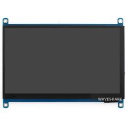 Raspberry Pi 7inch Kapasitif 1024×600 Dokunmatik Ekran LCD (H), HDMI, IPS - Thumbnail