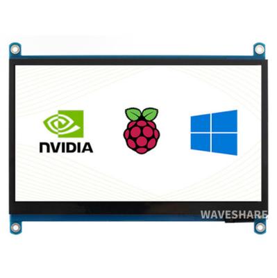 Raspberry Pi 7inch Kapasitif 1024×600 Dokunmatik Ekran LCD (H), HDMI, IPS