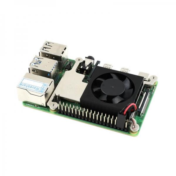Raspberry Pi Aluminum Pedestal Fan - Thumbnail
