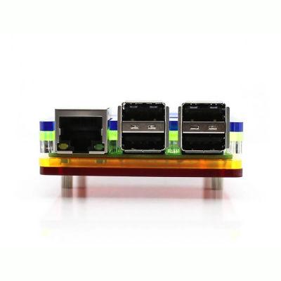 Raspberry Pi B+/2/3 Gökkuşağı Kutusu Tip-A
