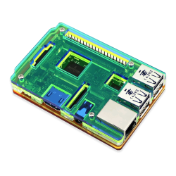 Waveshare - Raspberry Pi B+/2/3 Gökkuşağı Kutusu Tip-A