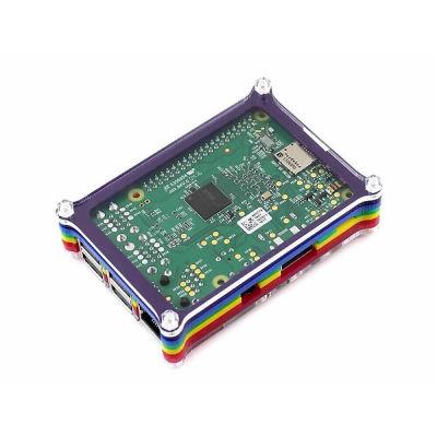 Raspberry Pi B+/2/3 Gökkuşağı Kutusu Tip B (Kalın)