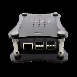 Raspberry Pi + BOSS DAC Uyumlu Siyah Akrilik Kasa - Thumbnail