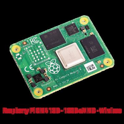 Raspberry Pi CM4 1GB - 16GB eMMC - Wireless