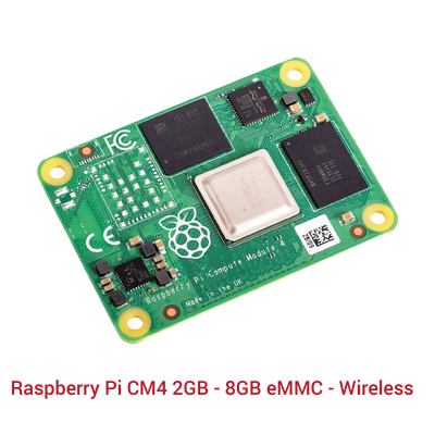 Raspberry Pi CM4 2GB - 8GB eMMC - Wireless