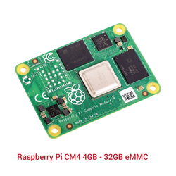 Raspberry Pi CM4 4GB - 32GB eMMC - Thumbnail