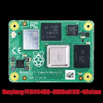 Raspberry Pi CM4 4GB - 32GB eMMC - Wireless