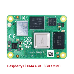 Raspberry Pi CM4 4GB - 8GB eMMC - Thumbnail