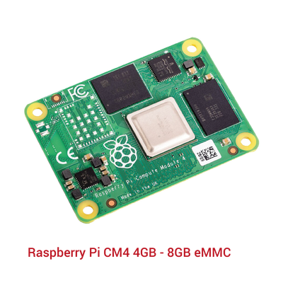 Raspberry Pi CM4 4GB - 8GB eMMC