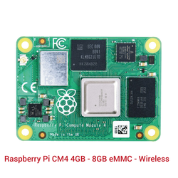 Raspberry Pi - Raspberry Pi CM4 4GB - 8GB eMMC - Wireless