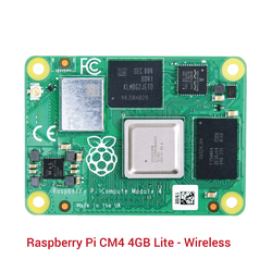Raspberry Pi - Raspberry Pi CM4 4GB Lite - Wireless