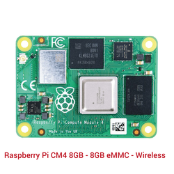 Raspberry Pi - Raspberry Pi CM4 8GB - 8GB eMMC - Wireless